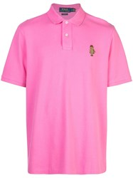 Polo Ralph Lauren English Bear Shirt Pink