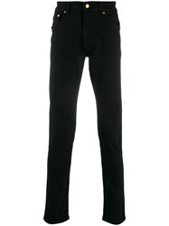 Versace Jeans Couture Slim Fit Chinos Black