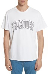 Ovadia And Sons Brooklyn Graphic T Shirt White