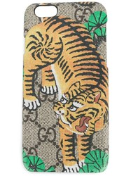 Gucci Bengal Iphone 6 Plus Case Brown