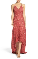 Tracy Reese Women's Lace High Low Gown