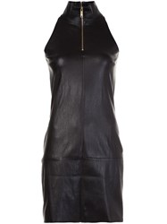 Jitrois Zipped Neck Dress Black