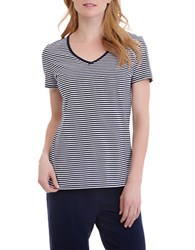 Nautica Striped Short Sleeve Tee Maritime Navy