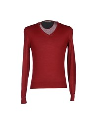 Become Sweaters Brick Red