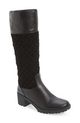 Women's The Flexx 'Make Long' Tall Boot Black Cashmere Stretch
