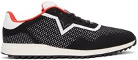 Diesel Black And White S Swift Knit Sneakers