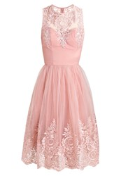 Chi Chi London Shenais Cocktail Dress Party Dress Rose Gold