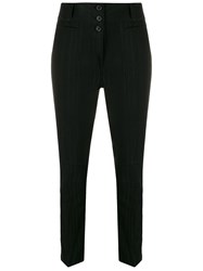 Ann Demeulemeester Striped Slim Fit Trousers 60