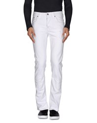 Heavy Project Denim Denim Trousers Men White