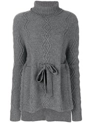 Cashmere In Love Tosca Sweater Grey