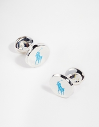 Polo Ralph Lauren Polo Player Cufflinks Red
