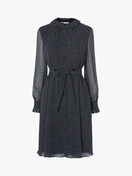 Lk Bennett L.K.Bennett Eliza Spot Dress Navy Multi
