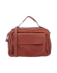 Corsia Handbags Brick Red