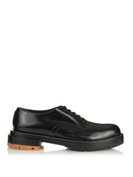 Marni Contrast Heel Leather Derby Shoes