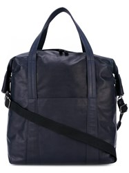 Maison Martin Margiela Multi Pocket Shoulder Bag Blue