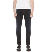 Replay Anbass Hyperflex Slim Fit Jeans Black