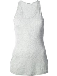 Alexander Wang T By Fitted Tank Grey