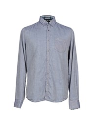Gilded Age Denim Denim Shirts Men Blue