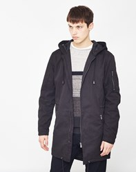 Only And Sons Noah Parka Coat Black