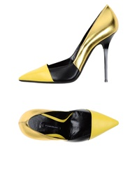 Diego Dolcini Pumps Gold