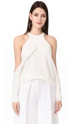 Dion Lee Sleeve Release Knit Ivory