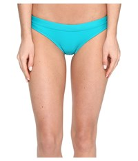 Speedo Solid Bottom Teal Women's Swimwear Blue