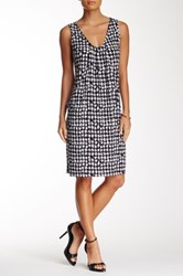 24 7 Comfort Houndstooth Tank Dress Multi