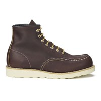 Red Wing Shoes Red Wing Men's 6 Inch Moc Toe Leather Lace Up Boots Briar Oil Slick