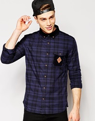 Fly 53 Check Shirt Blue