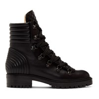 Christian Louboutin Black Mad Boots