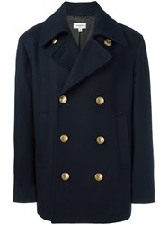 Coach 'Marines' Coat Blue