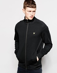 Lyle And Scott Vintage Track Jacket With Eagle Logo Black