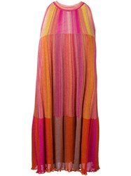M Missoni Geranio Dress Yellow Orange