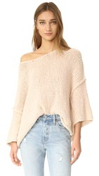 Free People Halo Pullover Sand