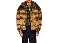Ienki Ienki Oversized Down Quilted Hooded Parka Med.Brown