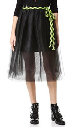 Marc Jacobs Tulle Skirt Black