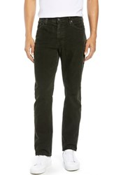 Ag Jeans Everett Straight Leg Corduroy Pants Sulfur Oak Grove