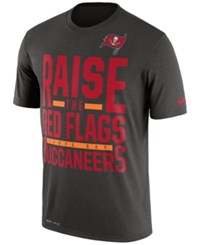Nike Men's Tampa Bay Buccaneers Local Fans T Shirt Silver