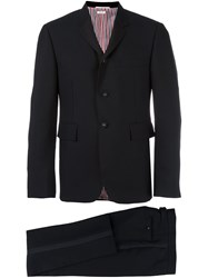 Thom Browne Classic Two Piece Suit Black
