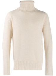 Laneus Roll Neck Jumper Neutrals