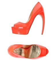 Walter Steiger Pumps Orange