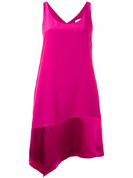 3.1 Phillip Lim Wrap Back Dress Women Silk 0 Pink Purple