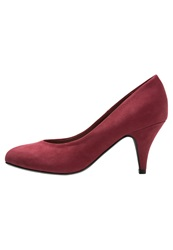 Evans Joy Classic Heels Red