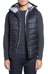 Vince Camuto Men's Hooded Faux Fur Lined Vest