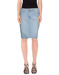 Paige Denim Denim Skirts Women Blue