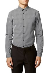 Men's Topman Slim Fit Stripe Shirt