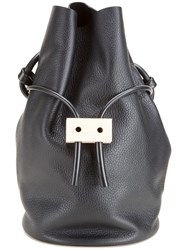 Building Block 'Cable Outlet' Shoulder Bag Black