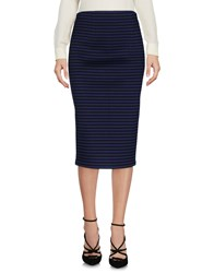 .. Merci 3 4 Length Skirts Dark Blue