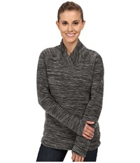 Mountain Hardwear Snowpass Fleece Pullover Heather Black Women's Sweatshirt