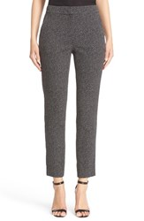 St. John Women's Collection Emma Scattered Dot Crop Pants